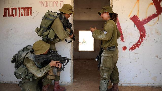 The exercise (Photo: IDF Spokesperson)