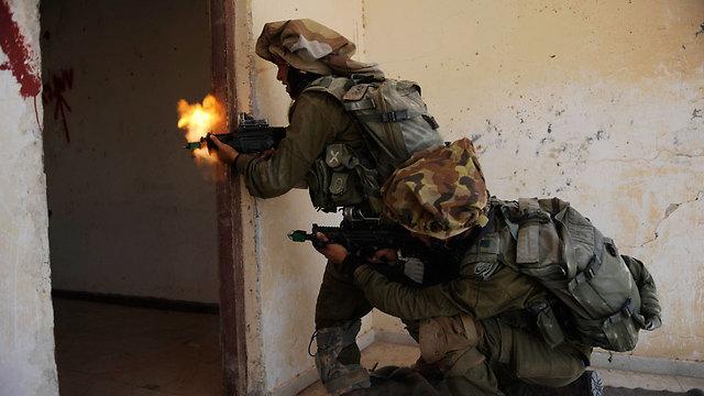 The exercise(Photo: IDF Spokesperson)