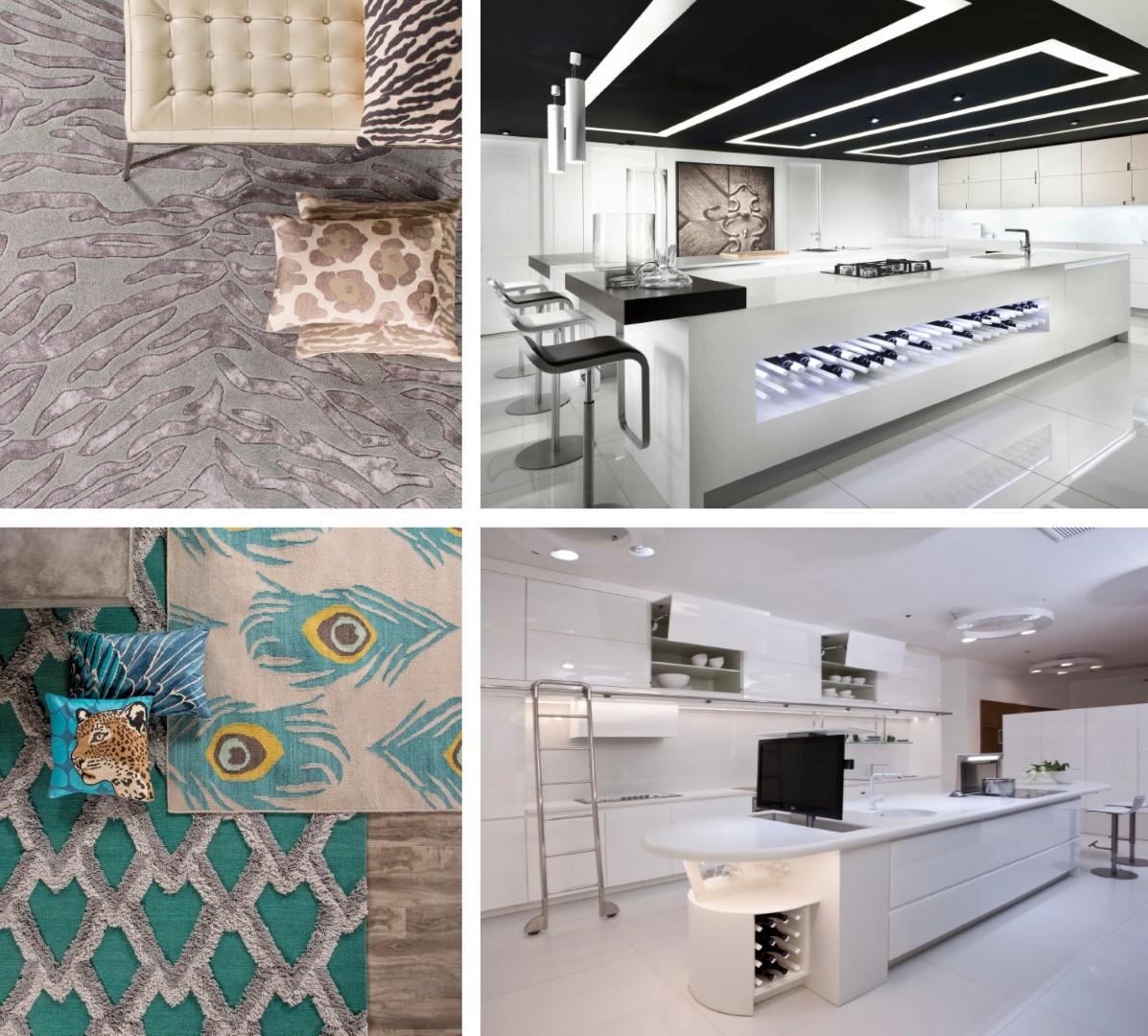 עיצוב לשנה החדשה של רשת מטבחי דקור וצמר שטיחים יפים ()