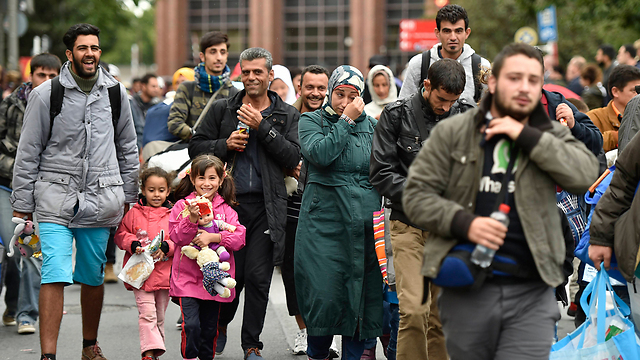 Immigrants and refugees in Dortmund (Photo: AP)