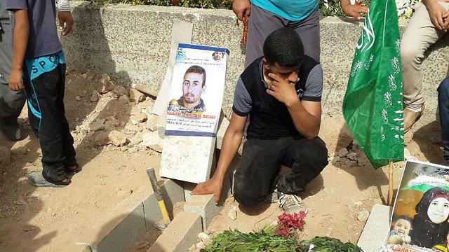 Reham Dawabsheh's funeral (Photo: Hassan Shaalan)