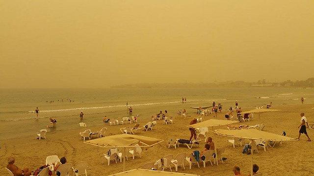 חוף הים בעכו (קרדיט: עמוס דדון) (קרדיט: עמוס דדון)