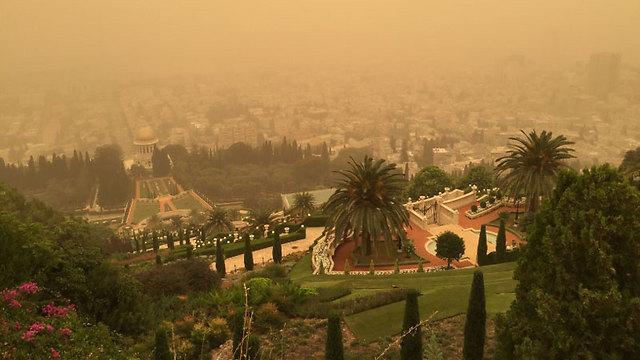 Haifa's Bahai gardens (Photo: Naama Tomarkin)