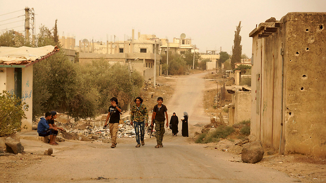 Syrian rebels (Photo: Reuters)