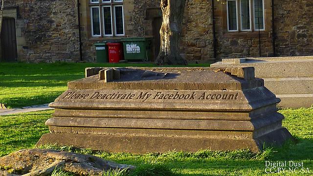 פייסבוק שלאחר המוות - מי יפעיל אותו? (צילום: באדיבות הבלוג 'אבק דיגיטלי') (צילום: באדיבות הבלוג 'אבק דיגיטלי')