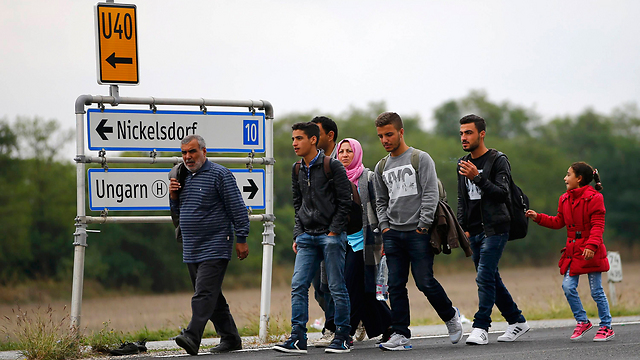 Refugees in Austria (Photo: Reuters)