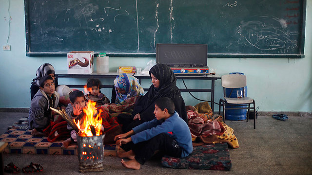 A lack of electricity in Gaza during winter (Photo: Reuters)