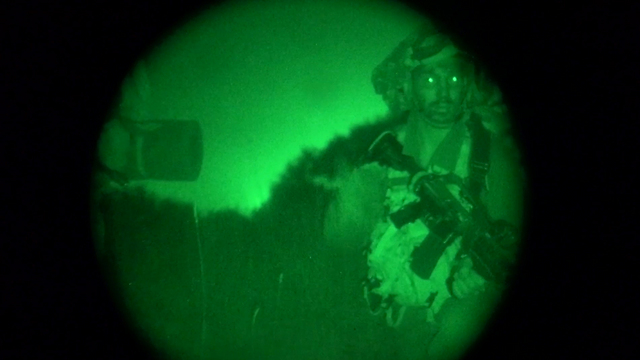 Combat Intelligence Collection Corps soldier in action (Photo: IDF Spokesman's Unit)
