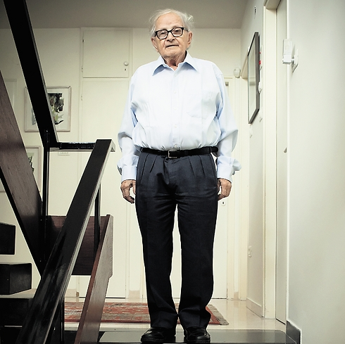 Rafi Eitan made Pollard a paid asset. (Photo: Ilan Sapira)