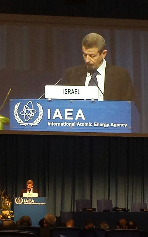 Ze'ev Snir. (Photo courtesy of the IAEA)