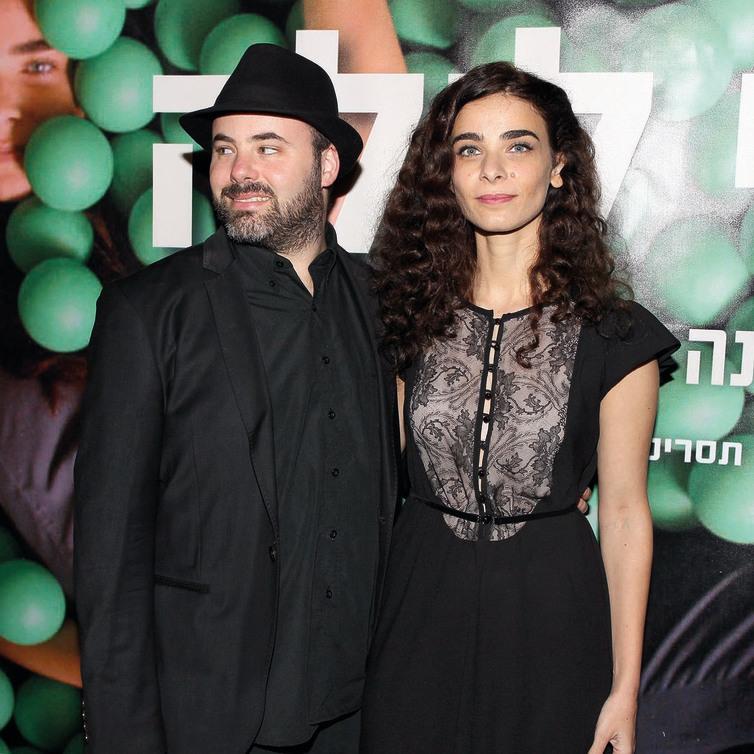 עם בעלה, אסף קורמן, בפסטיבל חיפה אשתקד. דייט בפסטיבל קאן