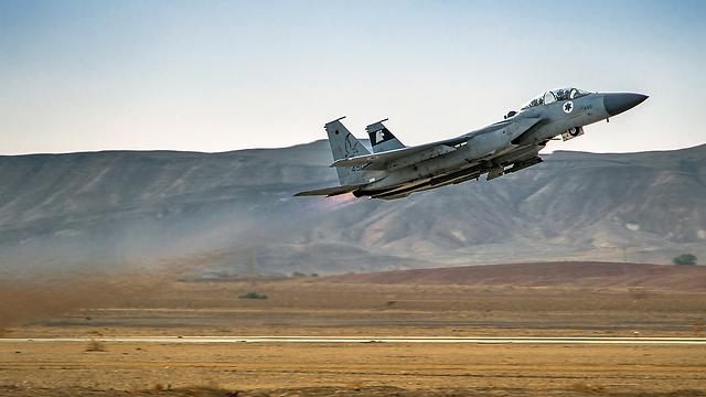 "F-15 של חיל האוויר. אישור ישראלי ראשון (צילום: דובר צה""ל) (צילום: דובר צה"