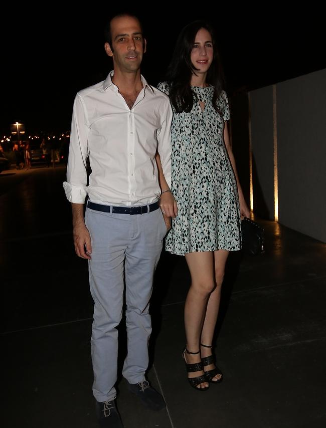 שרונה פיק ודניאל פדרמן (צילום: ענת מוסברג)
