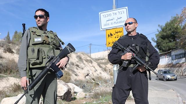 Protecting Armon Hanetziv neighborhood