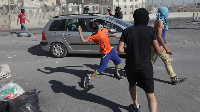 Shuafat, East Jerusalem this week (Photo: Gil Yohanan)