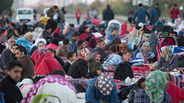 Мигранты в Европе. Фото: ЕРА