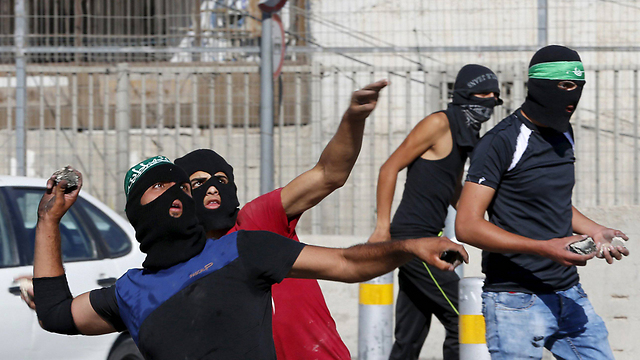 Rioting in East Jerusalem recently (Photo: Reuters)