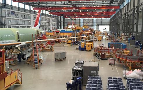 מפעל איירבוס (צילום: חן לחמני) (צילום: חן לחמני)