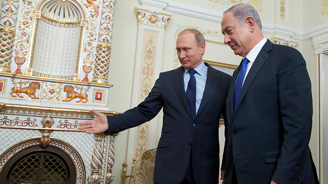 Путин и Нетаниягу. Фото: АР