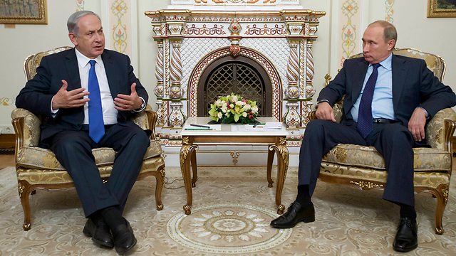Netanyahu and Putin in a recent meeting in Moscow. (Photo: AP)