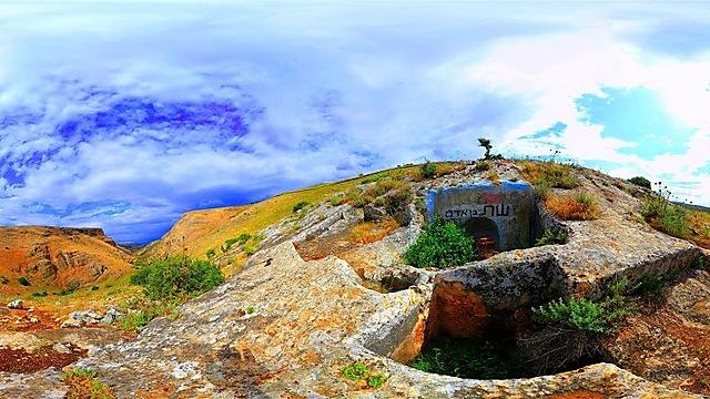 קבר שת (צילום: משה אפנזר) (צילום: משה אפנזר)