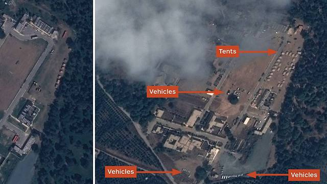 A Russian base in Syria (Photo: AFP / CNES 2015 DISTRIBUTION AIRBUS DS / 2015 IHS)