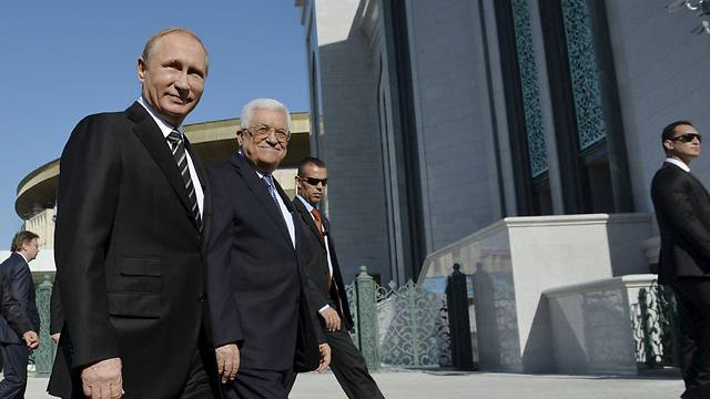 President Putin and President Abbas (Photo: Reuters)