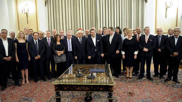 הממשלה היוונית. ועדת החוץ אישרה פה אחד את ההכרה בפלסטין (צילום: רויטרס) (צילום: רויטרס)