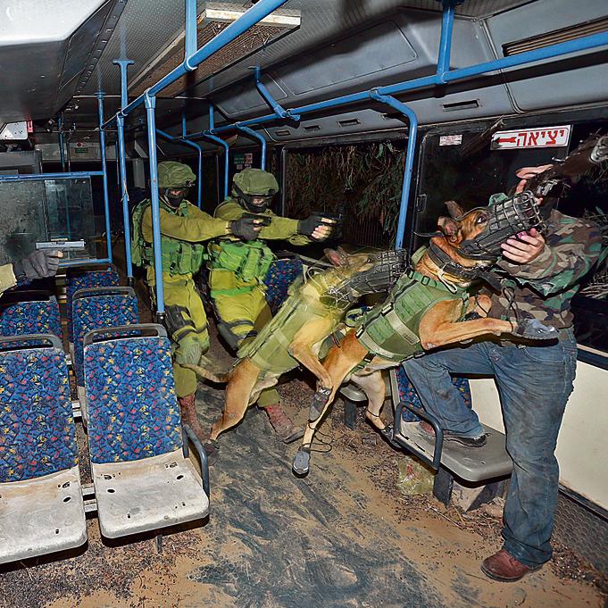 """השתלטות על אוטובוס """"מחבלים"""""""