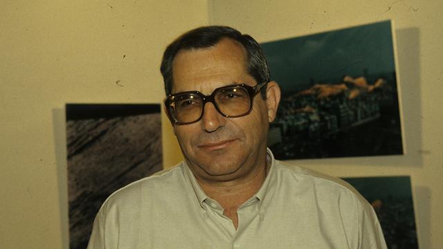 מוטי קירשנבאום ב-1993. מראשי רשות השידור (צילום: צביקה טישלר) (צילום: צביקה טישלר)