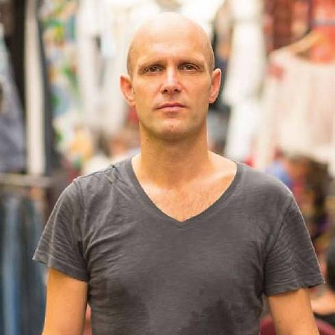 Frank van der Linde (Photo: Tal Shahar)