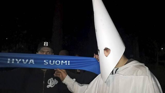 Finnish nationalists (Photo: AFP)