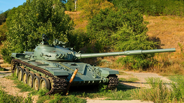 The T-72 tank. (Photo: Shutterstock)