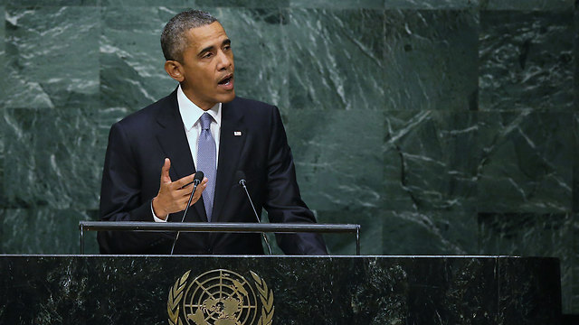 Obama speaking at the UN (Photo: Getty)