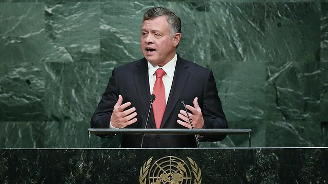 Jordanian King Abdullah II at the UN (Photo: Getty Images)