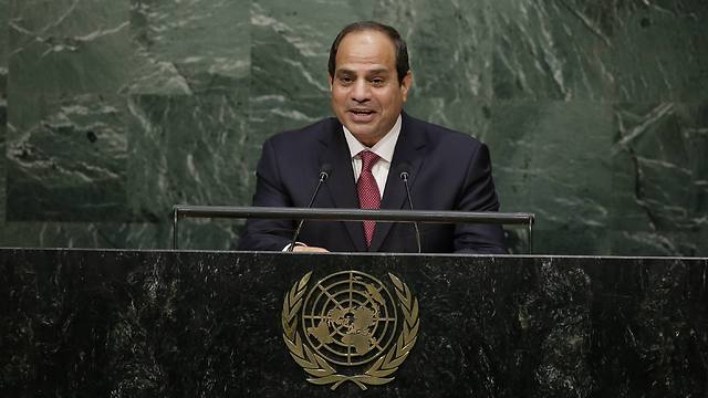 Egyptian President al-Sisi speaking at the UN General Assembly (Photo: AP)