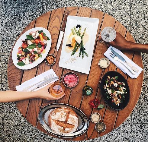 ארוחה עסקית גם בשבת בקפה אירופה (צילום: אורי חזיזה)