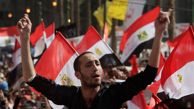 Protests in Tahrir Square in Cairo in 2011 (Photo: Reuters)
