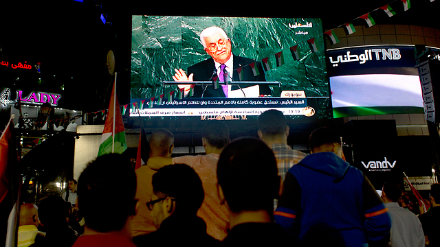 Abbas must know that if he continues his instigation, he will be held inside the Muqata just as his predecessor was (Photo: AP)