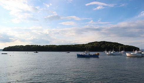 טיול אל האי. Bar Island