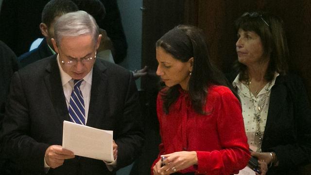 עם ראש הממשלה בנימין נתניהו (צילום: אוהד צויגנברג) (צילום: אוהד צויגנברג)