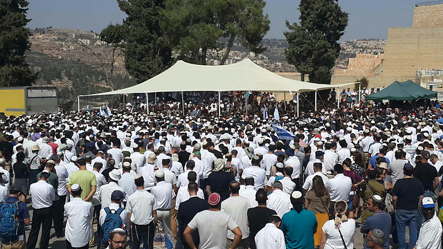 The funeral (Photo: Ofer Meir)