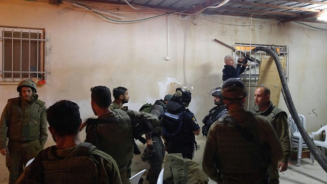 Sealing Hijazi's room