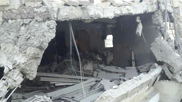 The torn-down home of a terrorist in Jabel Mukaber.