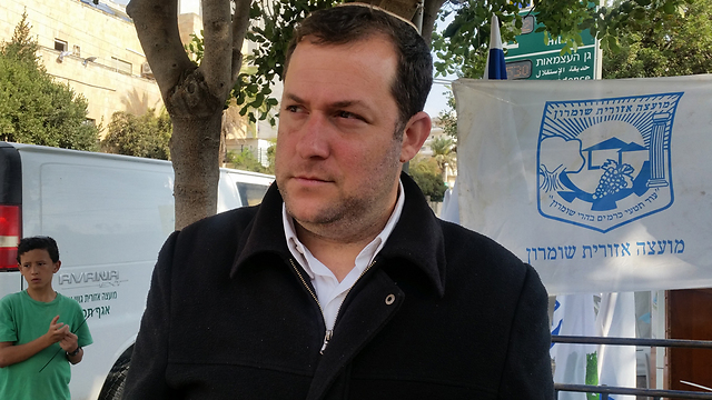 Samaria Regional Council head Yossi Dagan (Photo: Eli Mandelbaum) (Photo: Eli Mandelbaum)