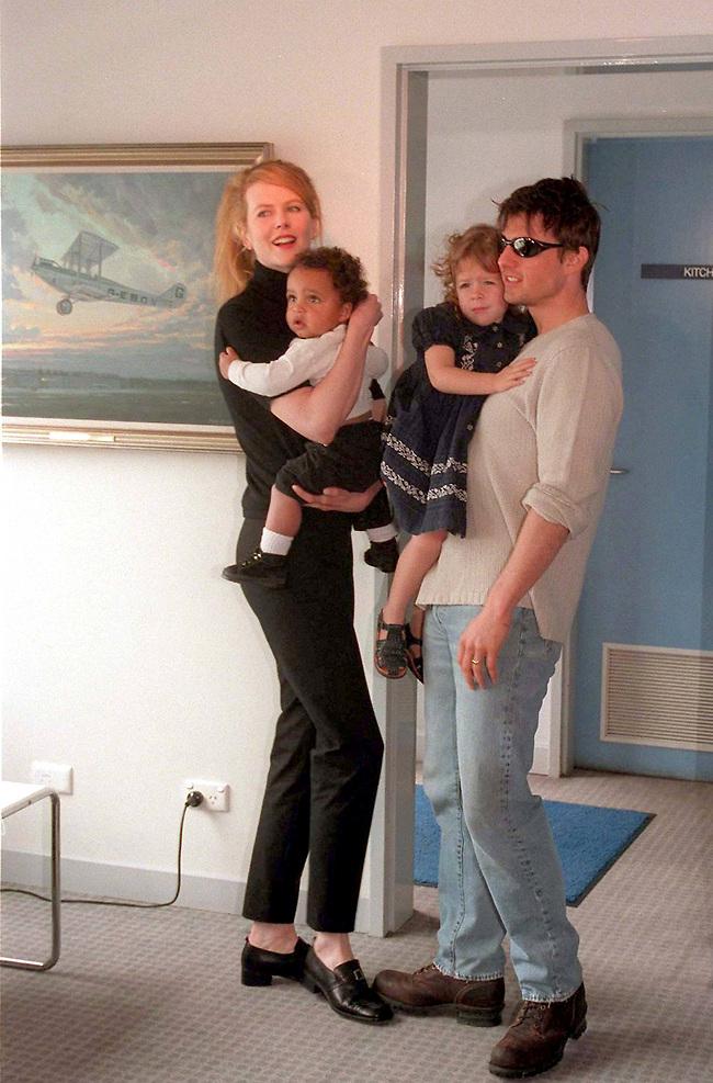 עד החתונה זה יעבור? פחות. משפחת קרוז בימים מאושרים יותר (צילום: Gettyimages)