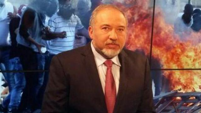 MK Avigdor Lieberman (Photo: Zahavit Shasha)