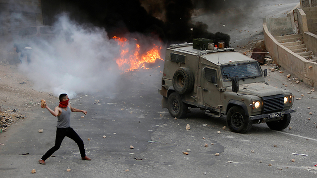 Clashes in the West Bank (file photo) (Photo: AP)