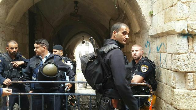 זירת הפיגוע בירושלים (צילום: TPS) (צילום: TPS)