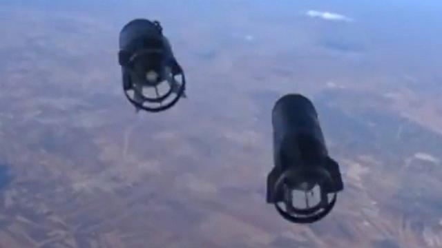 הפצצות של מטוס קרב רוסי בסוריה (צילום: EPA) (צילום: EPA)
